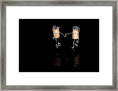 Marriage Proposal Framed Print featuring the photograph The Walk by Heike Hultsch