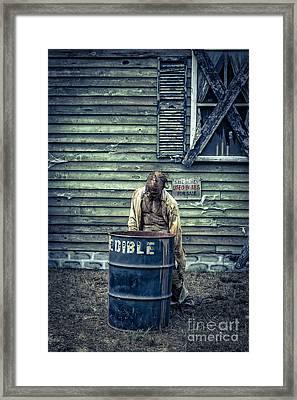 The Walking Dead Framed Print by Edward Fielding