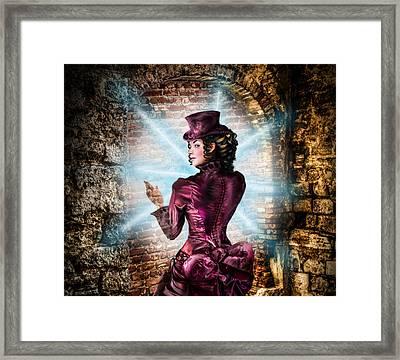 The Wall Framed Print by Alessandro Della Pietra