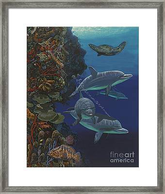 The Wall Re007 Framed Print by Carey Chen