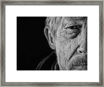 The War Doctor Framed Print by Jessica Zint