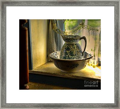 The Wash Basin Framed Print by Paul Ward