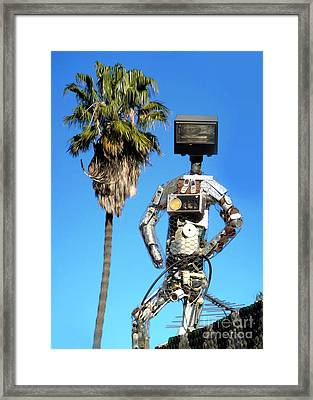 The Watcher Framed Print by Gregory Dyer