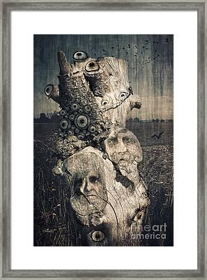 The Watcher Framed Print by Jutta Maria Pusl