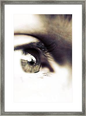 The Watcher Framed Print by Trish Mistric