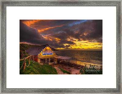 The Waterfront Framed Print by English Landscapes