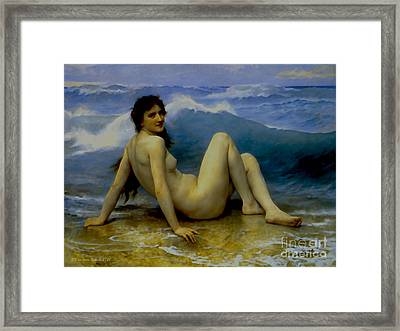 The Wave Framed Print by Ante Barisic