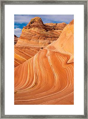 The Wave Coyote Buttes Arizona And Utah Framed Print by Robert Ford