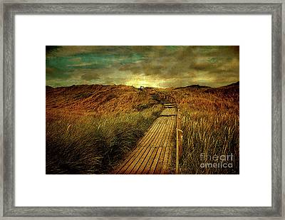 The Way Framed Print by Hannes Cmarits