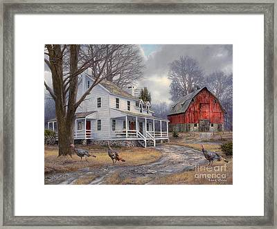 The Way It Used To Be Framed Print by Chuck Pinson