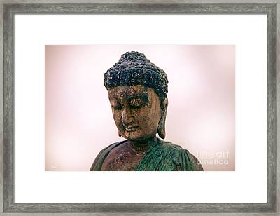 The Way Of The Master Framed Print by T Lang