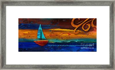 The Way You Should Go Framed Print by Shevon Johnson