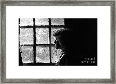 The Web Of Past Love 1980 Framed Print by Ed Weidman