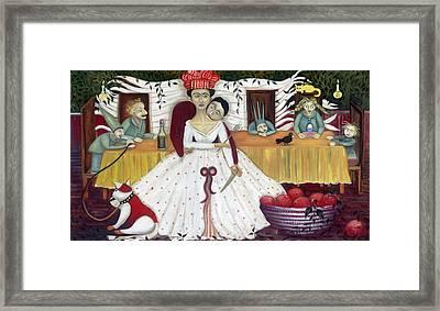 The Wedding Framed Print by Jennifer Taylor