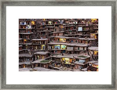The Wedding Night Framed Print by Mohammadreza Momeni