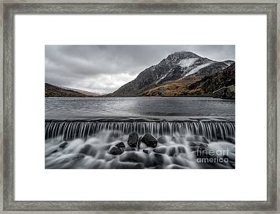 The Weir Framed Print by Adrian Evans