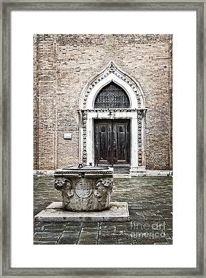 The Well Framed Print by Delphimages Photo Creations