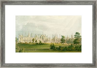 The West Front Framed Print by John Nash