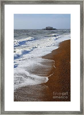 The West Pier Brighton Framed Print by Robert Preston