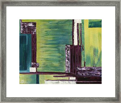 The Wharf Framed Print by Susan Sadoury