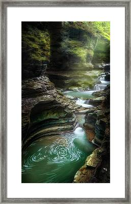 The Whirlpool Framed Print by Bill Wakeley