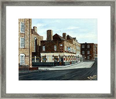 The White Swan And Cuckoo Wapping London Framed Print by Mackenzie Moulton