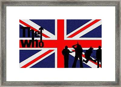 The Who Framed Print by Bill Cannon