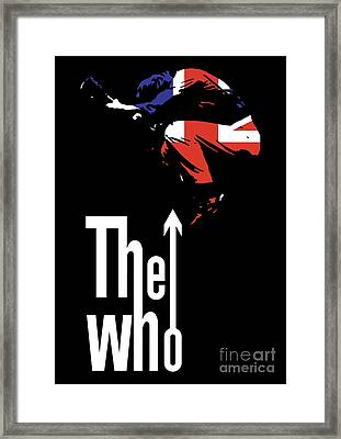 The Who No.01 Framed Print by Unknow