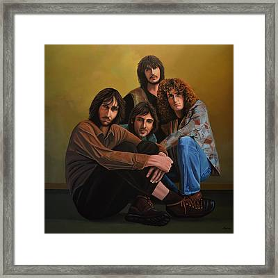 The Who Framed Print by Paul Meijering