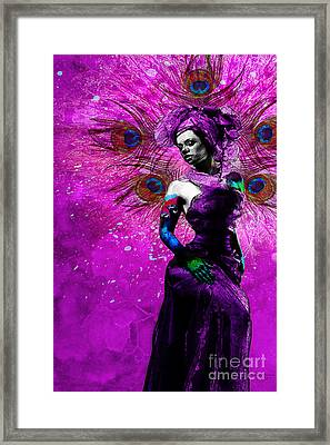 The Wife Manifestation Oshun Framed Print by Cody Norris