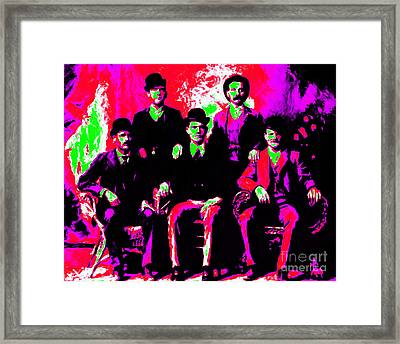 The Wild Bunch 20130212 Framed Print by Wingsdomain Art and Photography