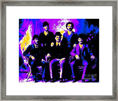 The Wild Bunch 20130212m68 Framed Print by Wingsdomain Art and Photography