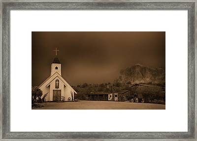 The Wild West  Framed Print by Saija  Lehtonen