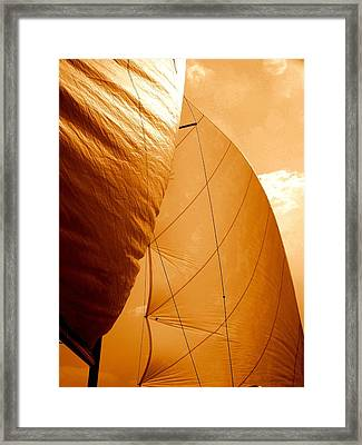 The Wind Will Carry Me Framed Print by Rick Todaro