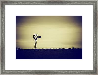 The Windmill Framed Print by Karol Livote