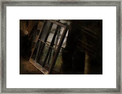 The Window Shop Framed Print by Ron Jones