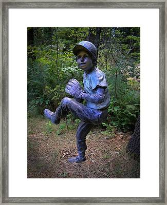The Windup Framed Print by Frank Wilson