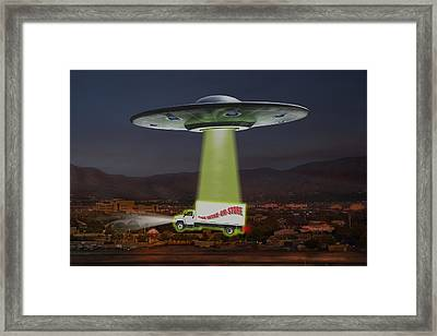 The Wine-oh-store Framed Print by Mike McGlothlen