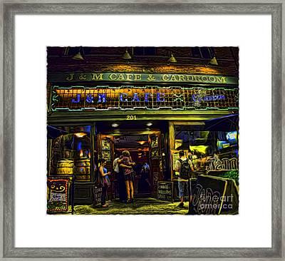 The Wingman Framed Print by Paul Dieter