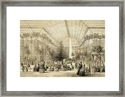 The Winter Garden Framed Print by A Provost