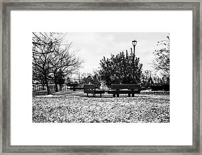 The Winter Framed Print by Gautam Gupta