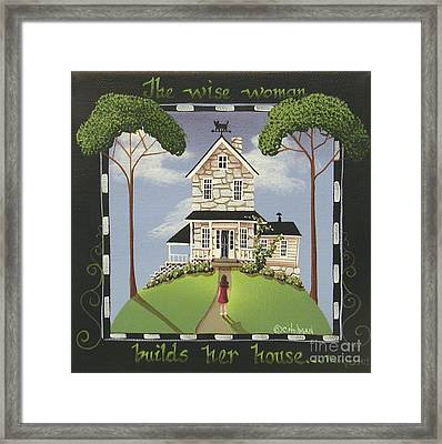 The Wise Woman Framed Print by Catherine Holman
