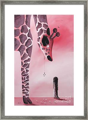 The Wish That Came True By Shawna Erback Framed Print by Shawna Erback