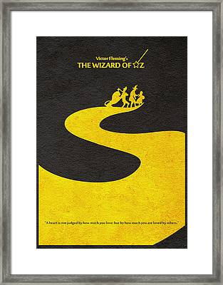 The Wizard Of Oz Framed Print by Ayse Deniz