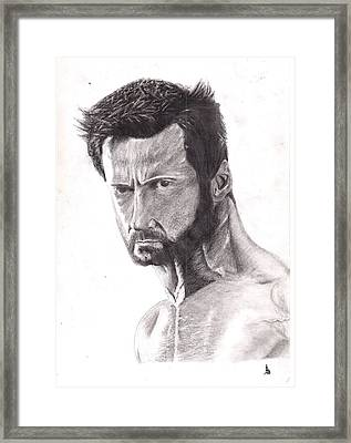 The Wolverine Framed Print by Ajay G