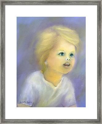 The Wonder Of Childhood Framed Print by Loretta Luglio