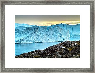 The Wonder Of Greenland Framed Print by Robert Lacy