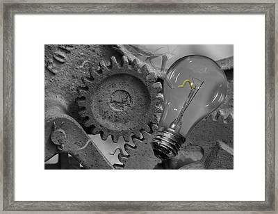 The Working Man Framed Print by Betsy C Knapp