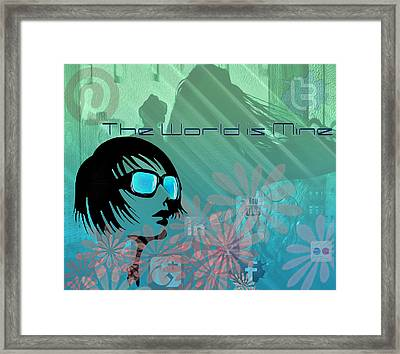 The World Is Mine Framed Print by Greg Sharpe