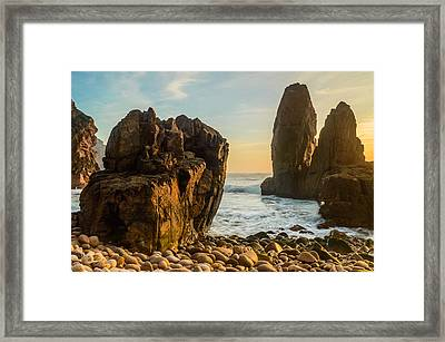 The World's End Framed Print by Marco Oliveira